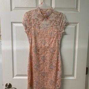 Peach Summer Dress size 7-9